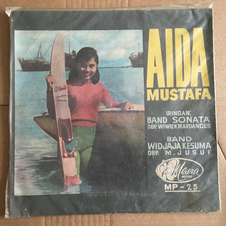 "AIDA MUSTAFA & BAND SONATA 10"" same INDONESIA MESRA 60's GARAGE mp3 LISTEN"