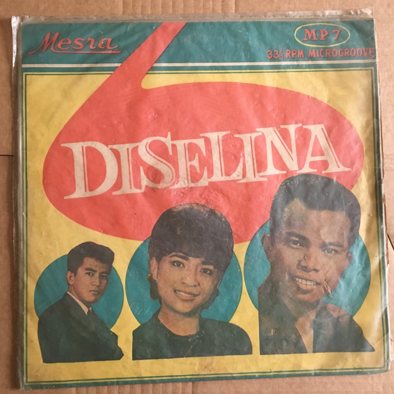 "ORKES DISELINA 10"" same INDONESIA MESRA 50's - 60's BEAT mp3 LISTEN"