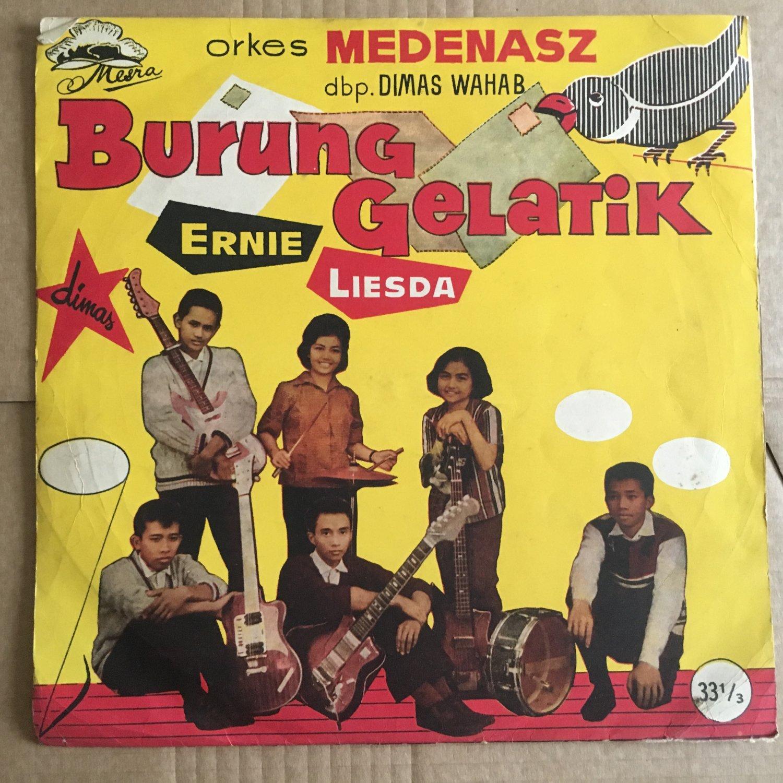 """MEDENASZ 10"""" burung gelatik INDONESIA 60's BEAT POKORA mp3 LISTEN"""