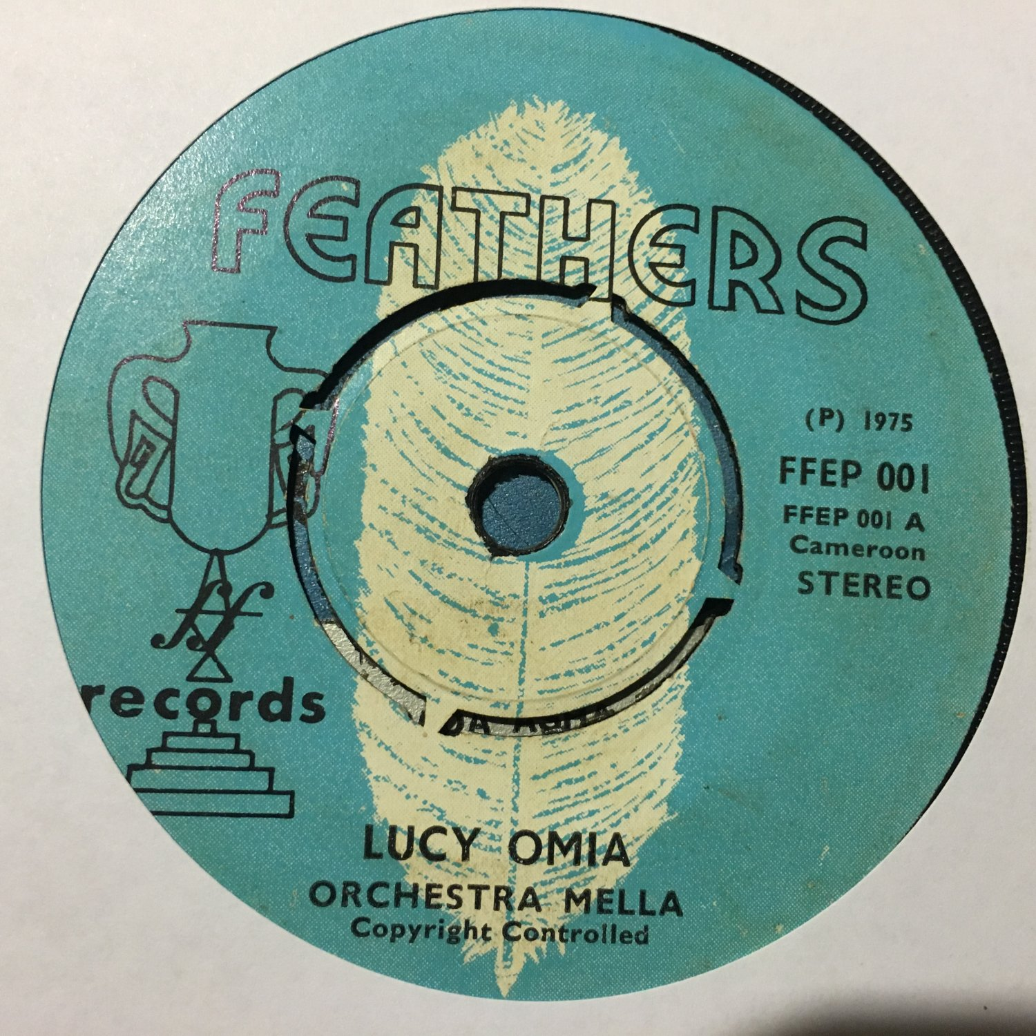 "ORCHESTRE MELLA 45 lucy omia - poor man CAMEROON 7"" mp3 LISTEN"
