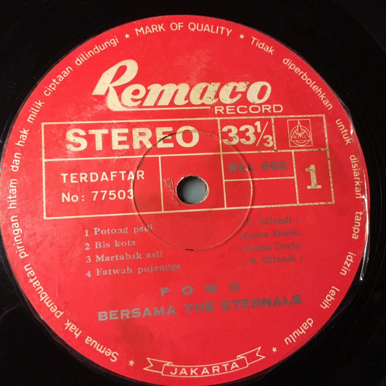 POMO & THE ETERNALS LP same INDONESIA MELAYU mp3 LISTEN