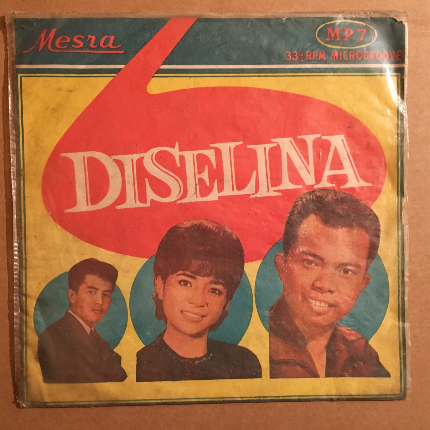"ORKES DISELINA 10"" same INDONESIA MESRA 50's - 60's BEAT mp3 LISTEN"