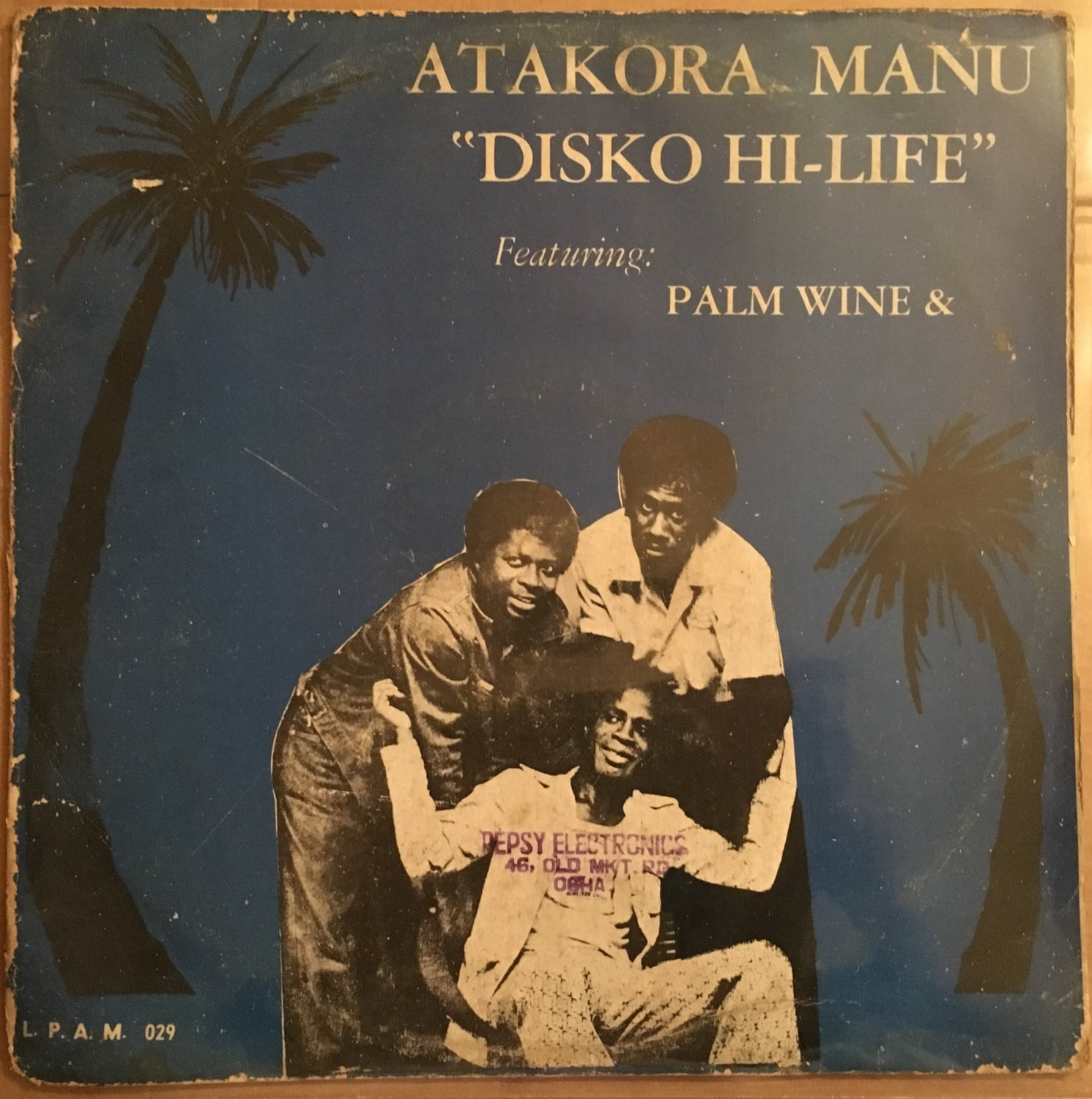 ATAKORA MANU LP disko hi-life GHANA HIGHLIFE mp3 LISTEN