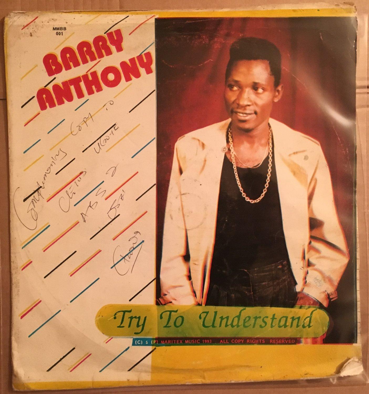 BARRY ANTHONY LP try to understand NIGERIA REGGAE SOCA POP mp3 LISTEN