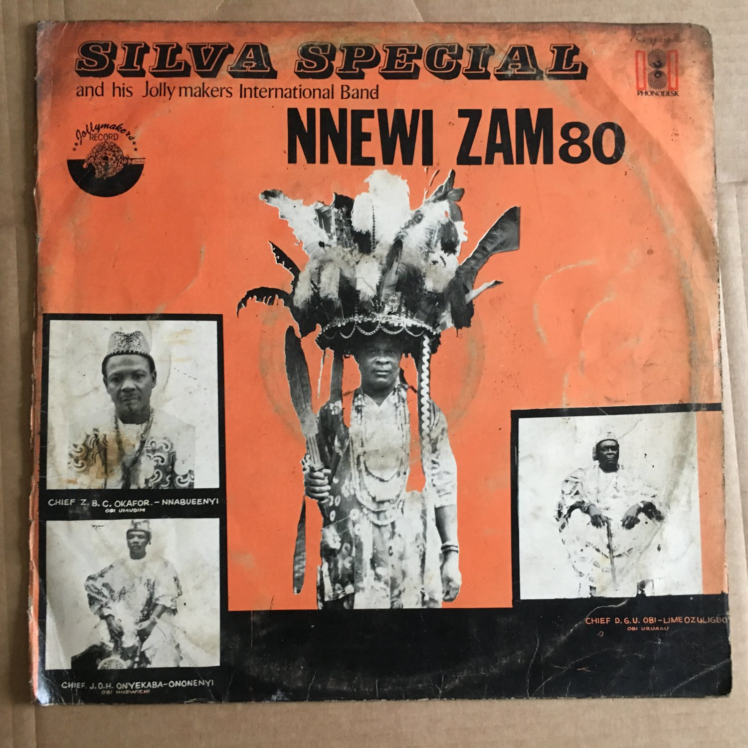SILVA SPECIAL & HIS JOLLY MAKERS INT. BAND LP nnewi zam NIGERIA COSMIC HIGHLIFE mp3 LISTEN