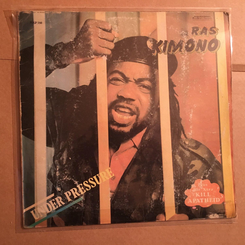 RAS KIMONO LP under pressure NIGERIA REGGAE mp3 LISTEN