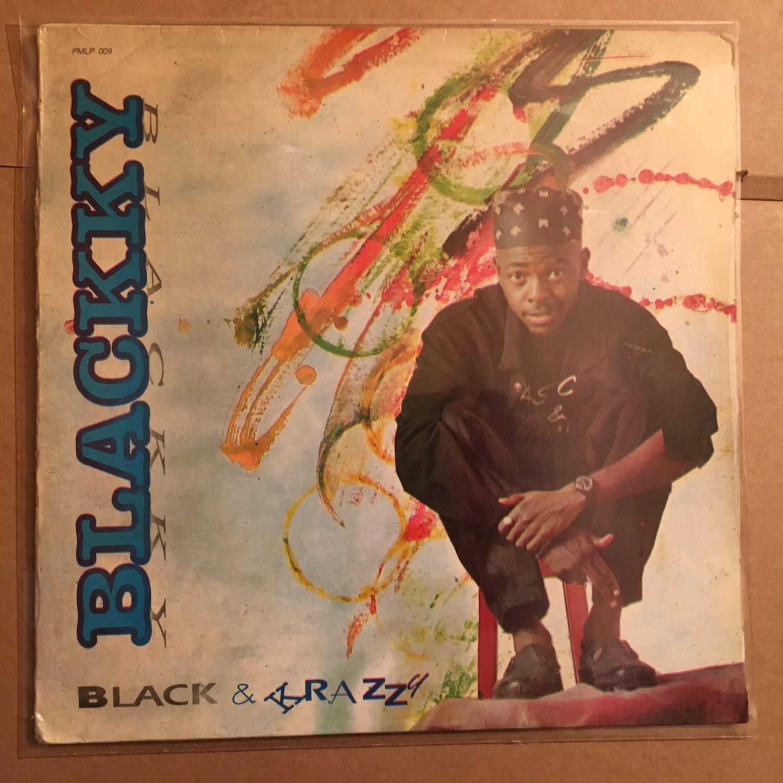 BLACKKY LP black & krazzy NIGERIA REGGAE MODERN SOUL mp3 LISTEN