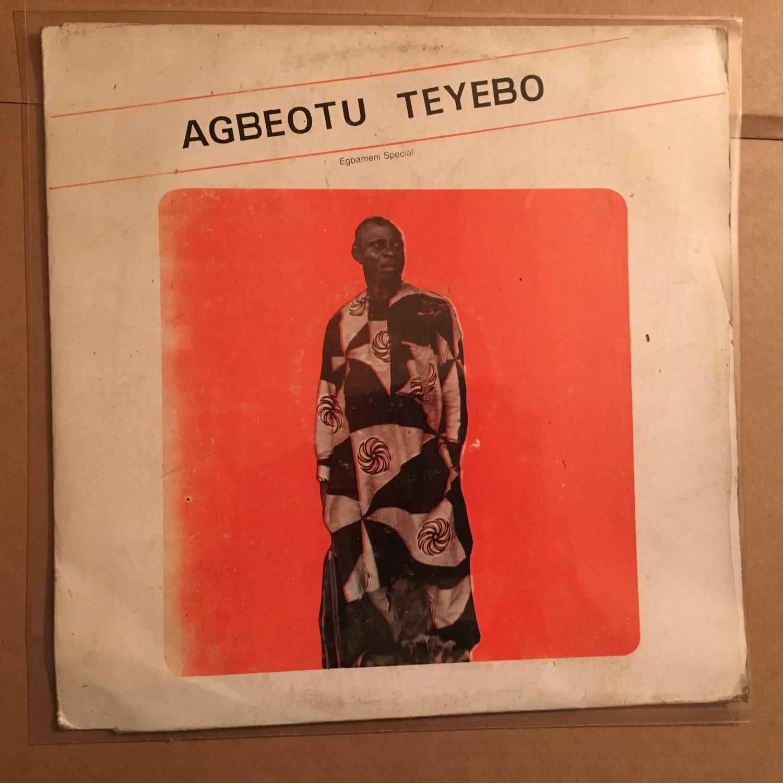 **AGBEOTU TEYEBO LP egbameni special NIGERIA HIGHLIFE mp3 LISTEN