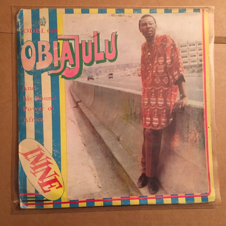 OBIAJULU & HIS SOUND POWER OF AFRICA LP inine NIGERIA HIGHLIFE mp3 LISTEN