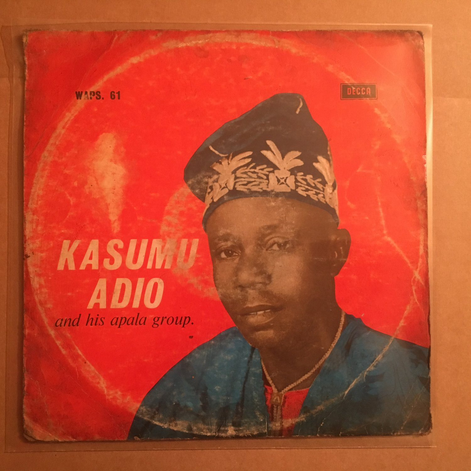 KASUMU ADIO & HIS APALA GROUP LP same NIGERIA mp3 LISTEN