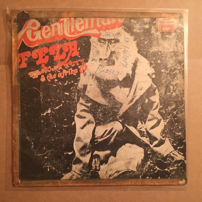 FELA RANSOME KUTI & AFRIKA 70 LP gentleman NIGERIA ORG AFRO BEAT mp3 LISTEN