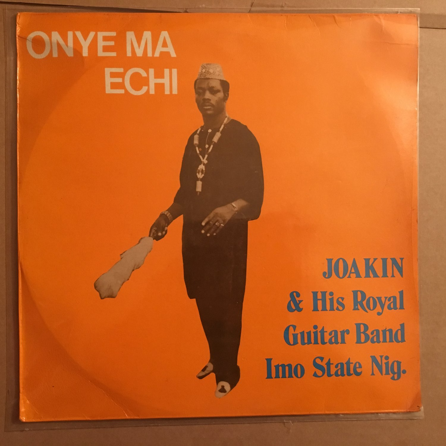 JOAKIN & HIS ROYAL GUITAR BAND IMO LP onye ma echi NIGERIA HIGHLIFE mp3 LISTEN