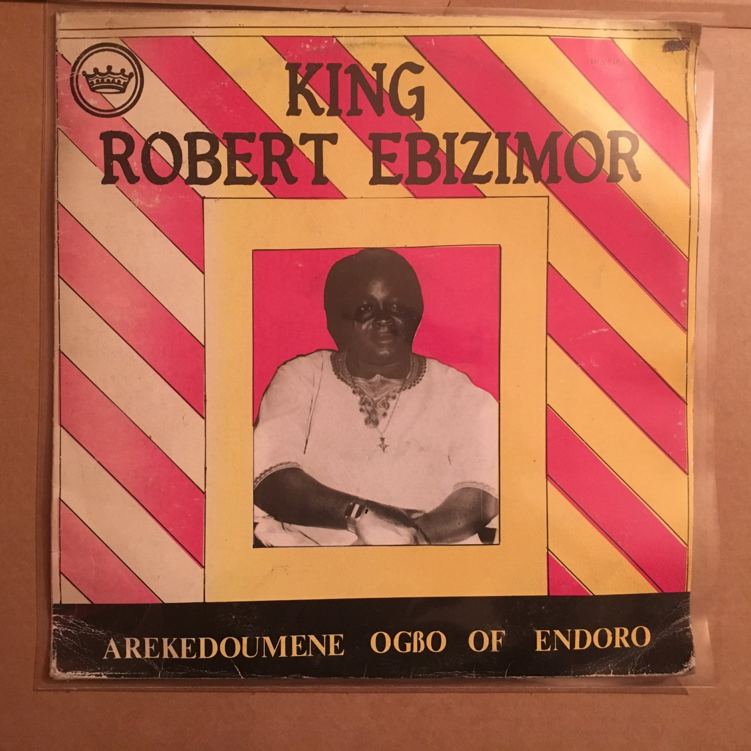 KING ROBERT EBIZIMOR LP Arekedoumene Ogbo of Odoro NIGERIA HIGHLIFE mp3