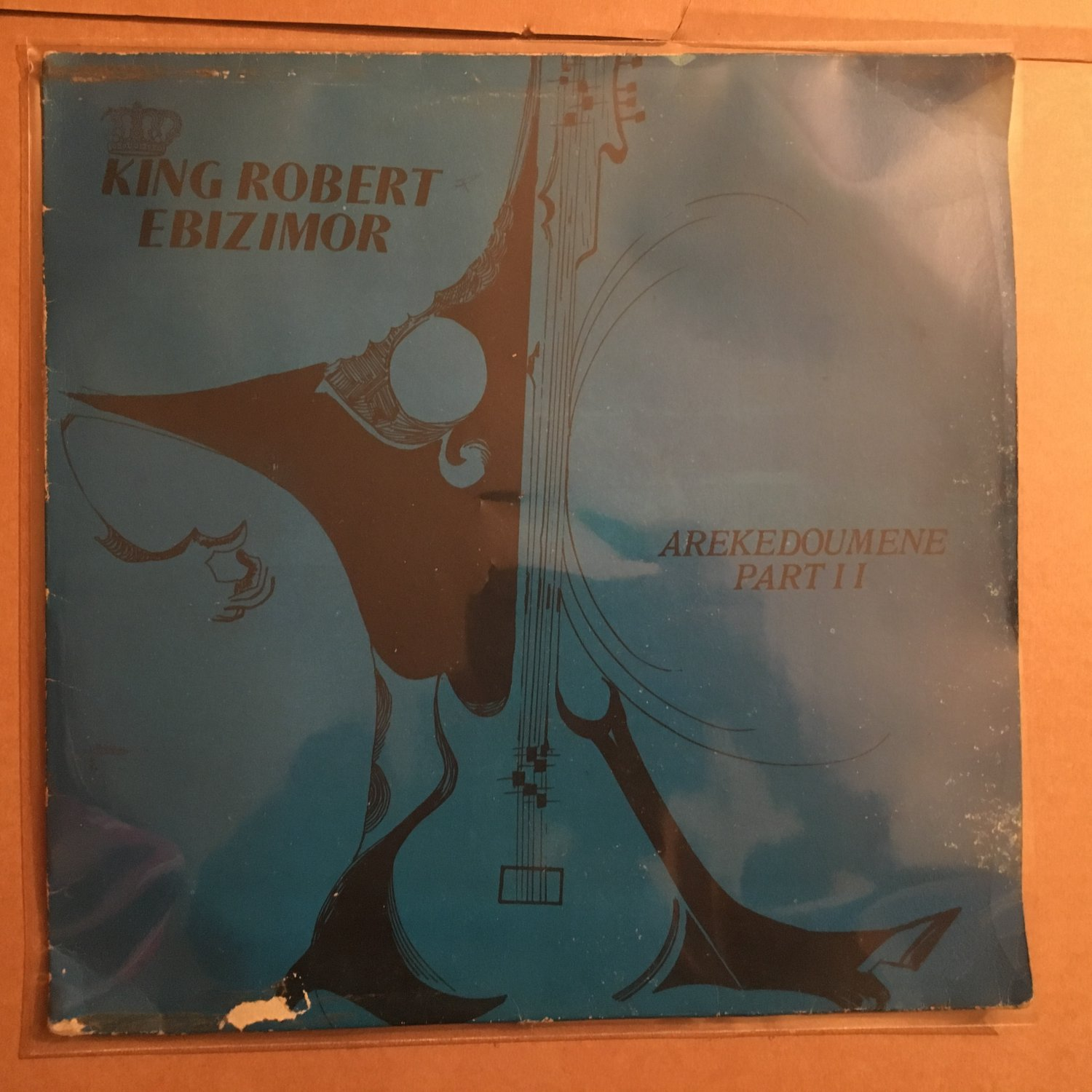KING ROBERT EBIZIMOR & HIS IZON BROTHERS BAND LP arekedoumene pt2 NIGERIA mp3 LISTEN
