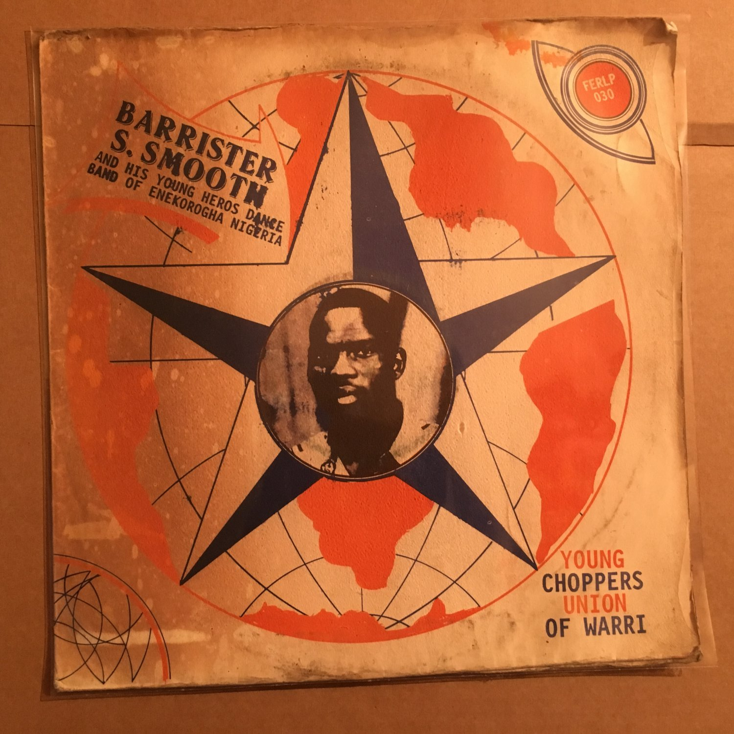 BARRISTER S. SMOOTH & HIS YOUNG HEROS LP young choppers union of warri NIGERIA HIGHLIFE mp3 LISTEN