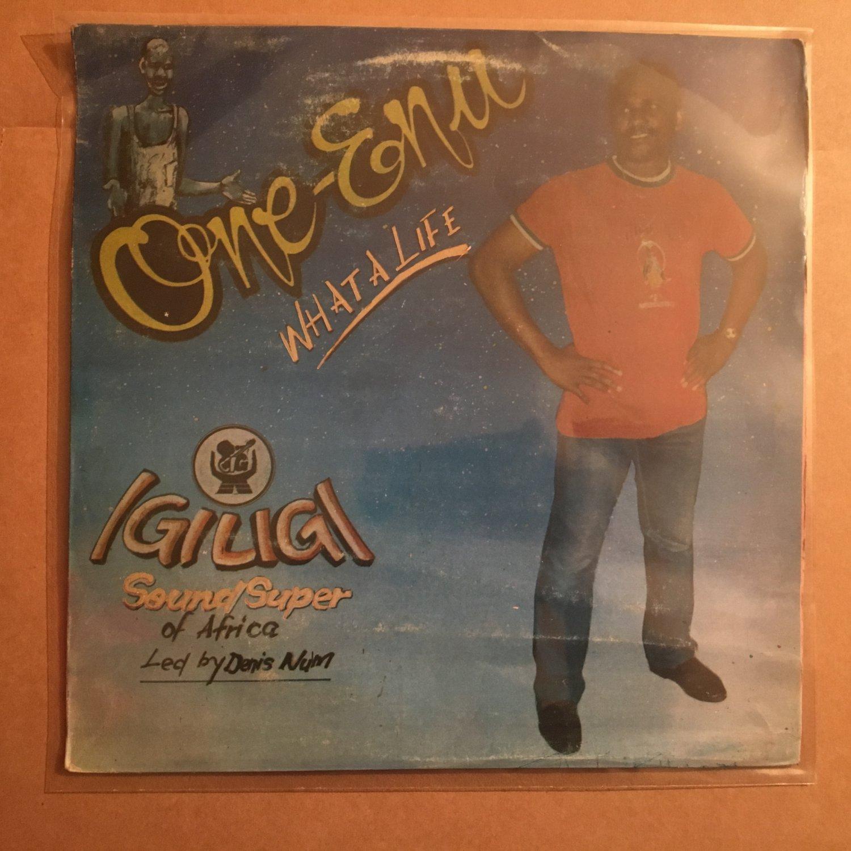 IGILIGI SOUND SUPER OF AFRICA LP onye enu NIGERIA HIGHLIFE mp3 LISTEN