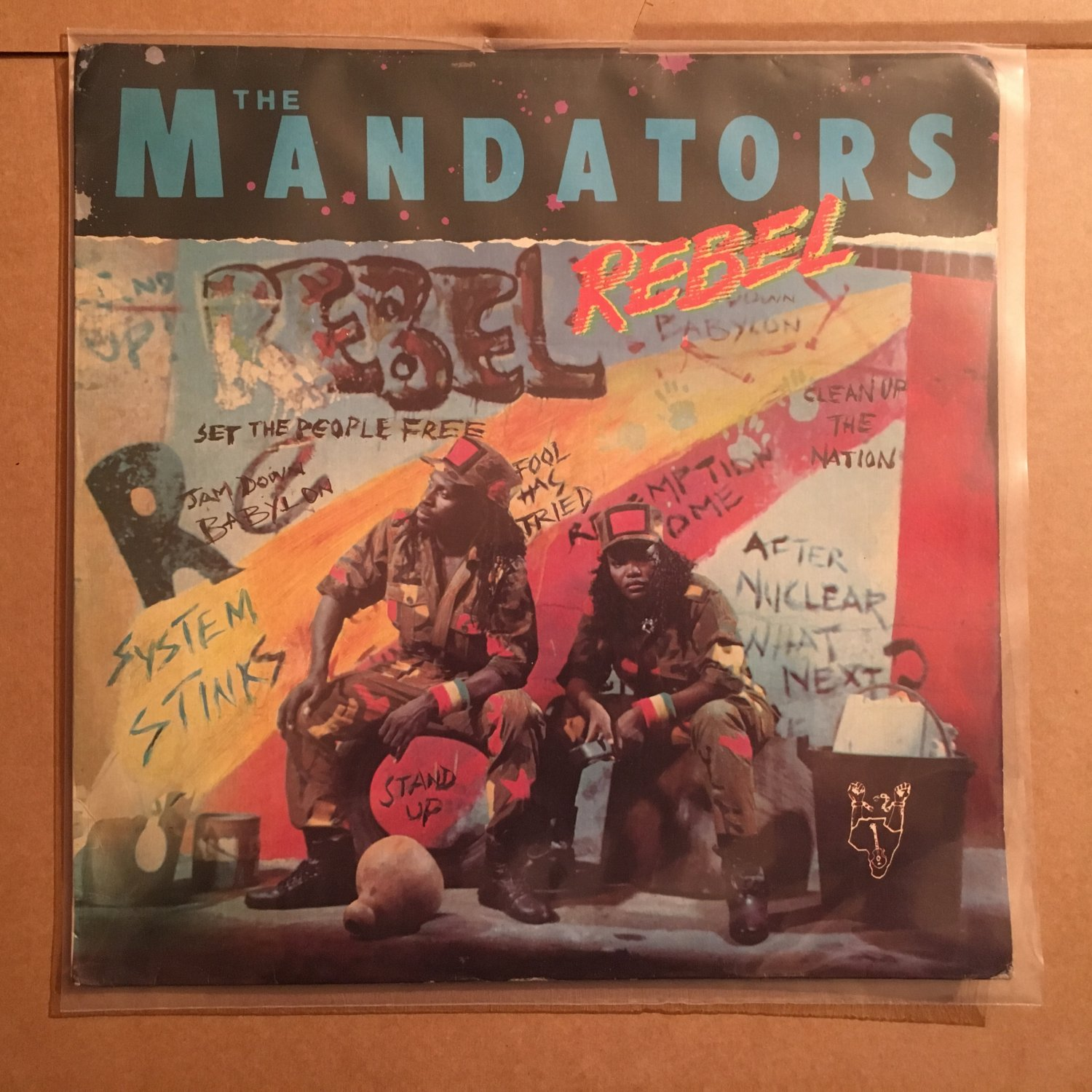 THE MANDATORS LP rebel NIGERIA REGGAE mp3 LISTEN