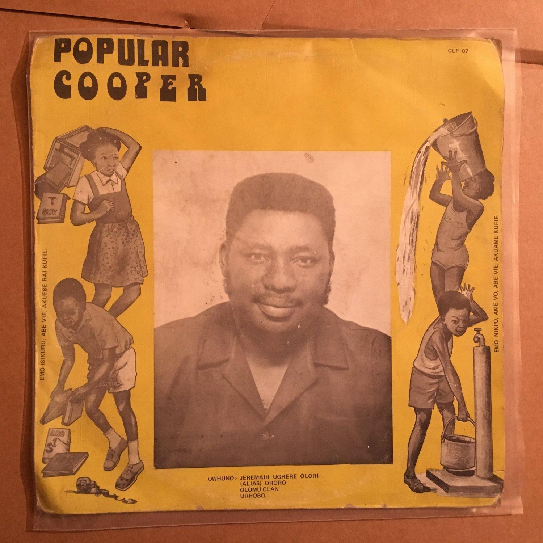 POPULAR COOPER & HIS ALL BEATS BAND LP ororo NIGERIA HIGHLIFE mp3 LISTEN