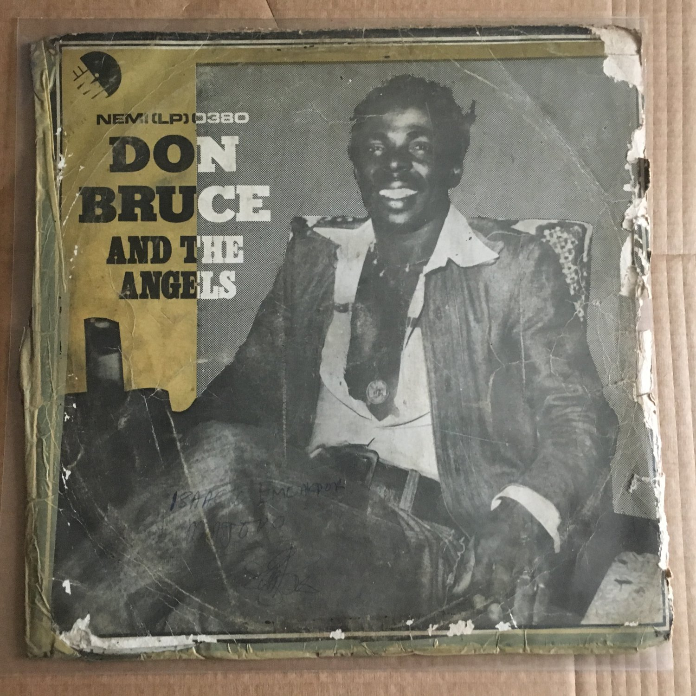 DON BRUCE & THE ANGELS LP nobody knows tomorrow NIGERIA AFRO FUNK REGGAE mp3 LISTEN