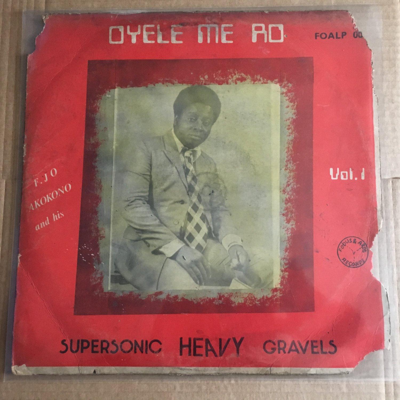 AKOKONO & SUPERSONIC HEAVY GRAVELS LP same NIGERIA FUNKY HIGHLIFE mp3