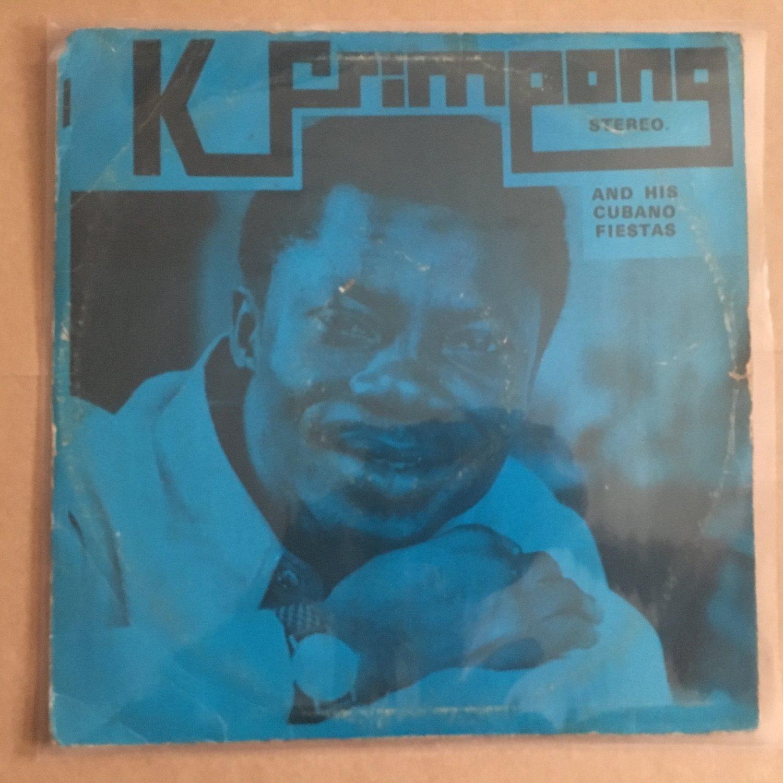K FRIMPONG & HIS CUBANO FIESTAS LP same GHANA AFRO FUNK HIGHLIFE mp3 LISTEN