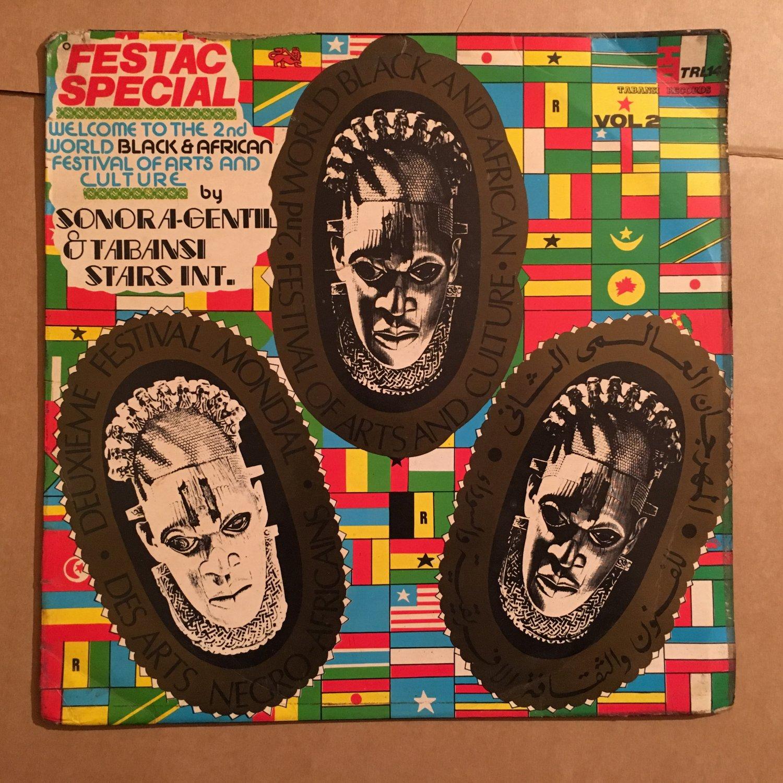 SONORA GENTIL & TABANSI STARS INT. LP festac special vol. 2 NIGERIA mp3 LISTEN