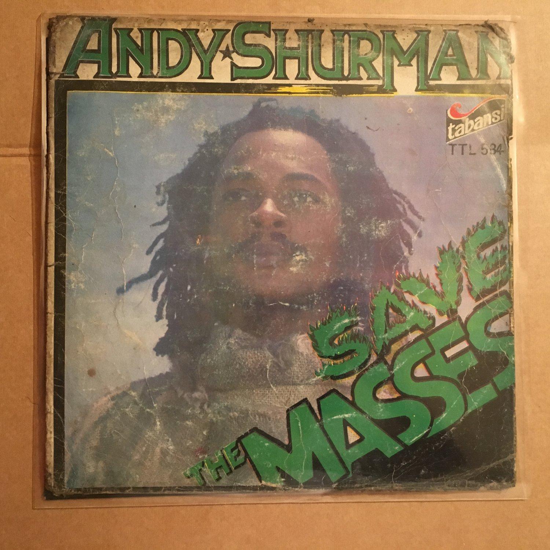 ANDY SHURMAN LP save the masses NIGERIA REGGAE mp3 LISTEN