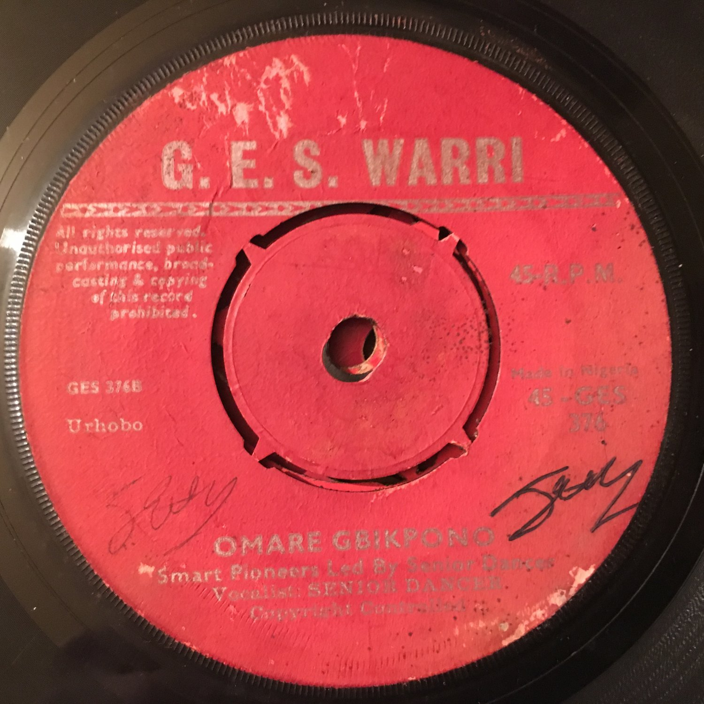 "SENIOR DANCER & SMART PIONEERS 45 omovie - omare NIGERIA mp3 LISTEN 7"""