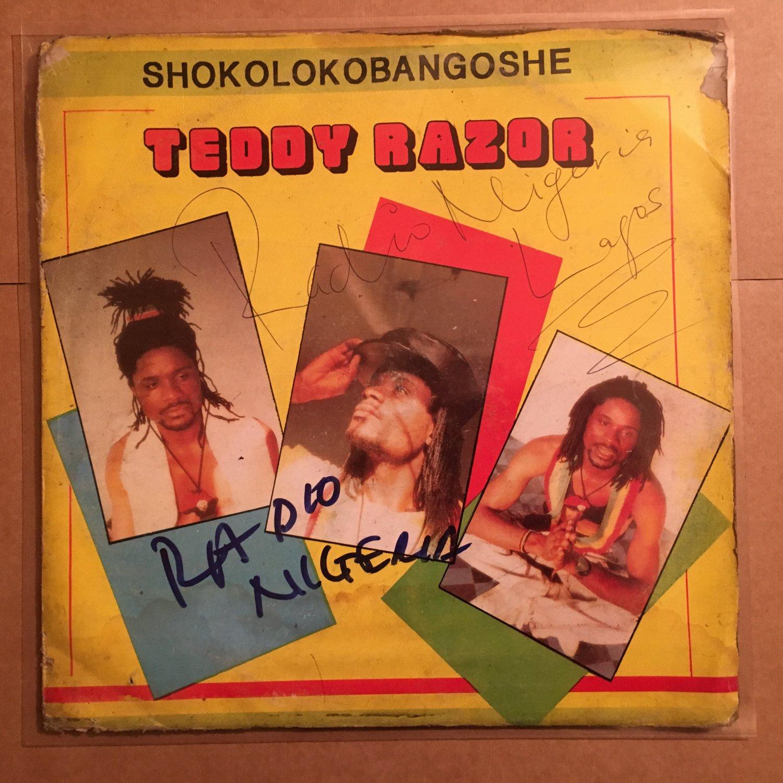 TEDDY RAZOR LP shokolokobangoshe NIGERIA REGGAE mp3 LISTEN
