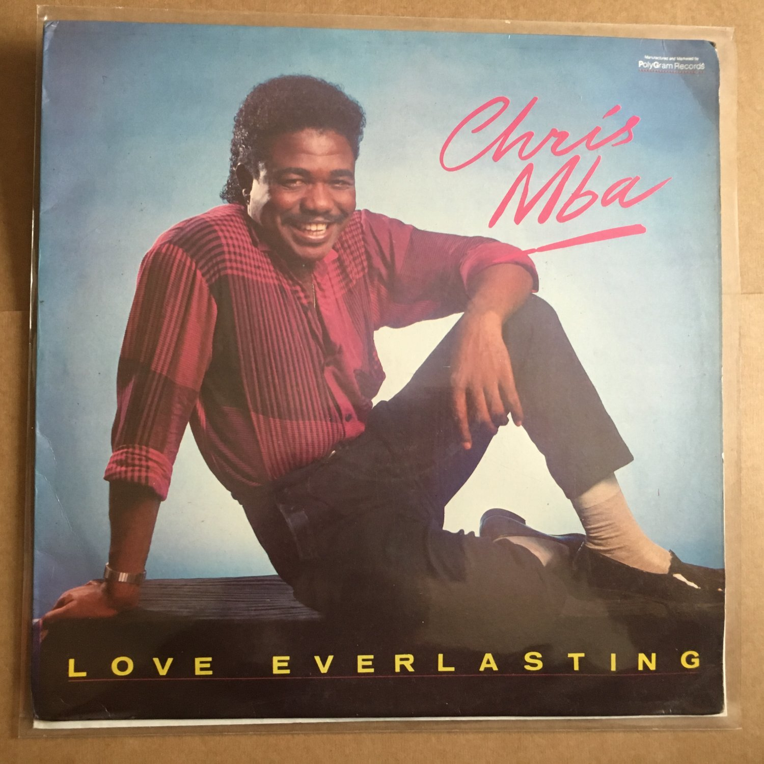 CHRIS MBA LP love everlasting NIGERIA AFRO BOOGIE FUNK mp3 LISTEN