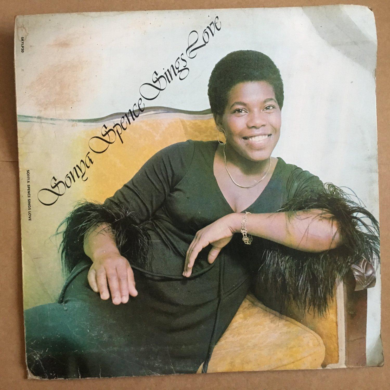 SONYA SPENCE LP sings love REGGAE NIGERIAN PRESS mp3 LISTEN