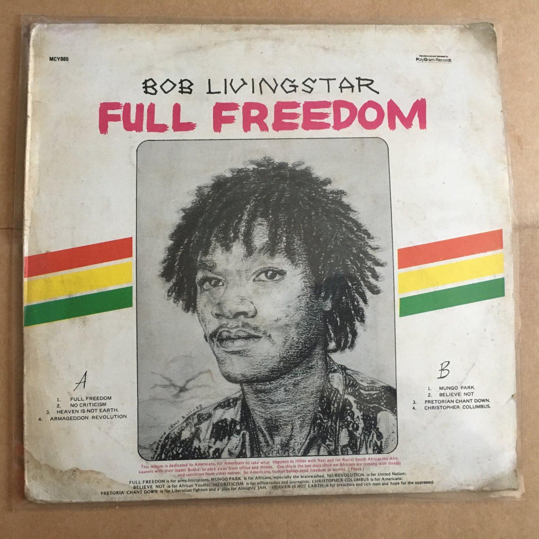 BOB LIVINGSTAR LP full freedom NIGERIA REGGAE mp3 LISTEN