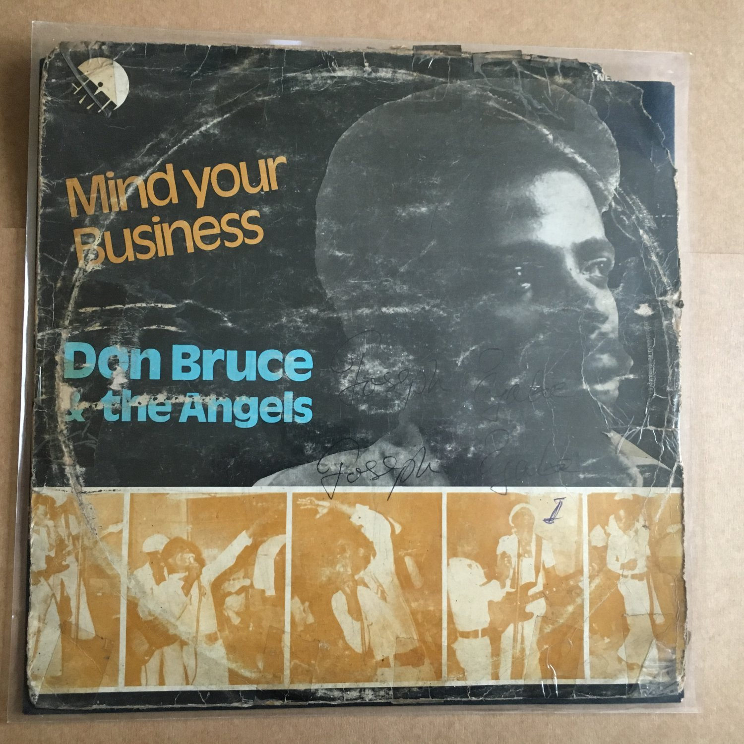 DON BRUCE & THE ANGELS LP mind your business NIGERIA AFRO FUNK REGGAE mp3 LISTE