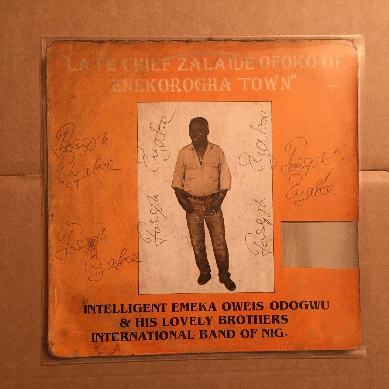 INTELLIGENT EMEKA OWEIS ODOGWU LP late NIGERIA IZON HIGHLIFE mp3 LISTEN