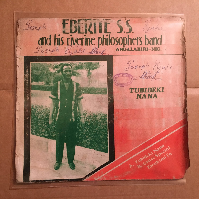 EBERIYE & HIS RIVERINE PHILOSOPHERS BAND LP tubideki NIGERIA HIGHLIFE mp3 LISTEN
