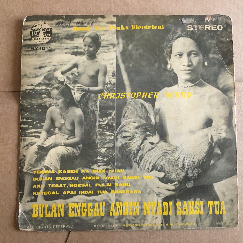 CHRISTOPHER KERRY & THE PEAKS ELECTRICS 45 EP bulan enggau MALAYSIA GARAGE mp3 LISTEN