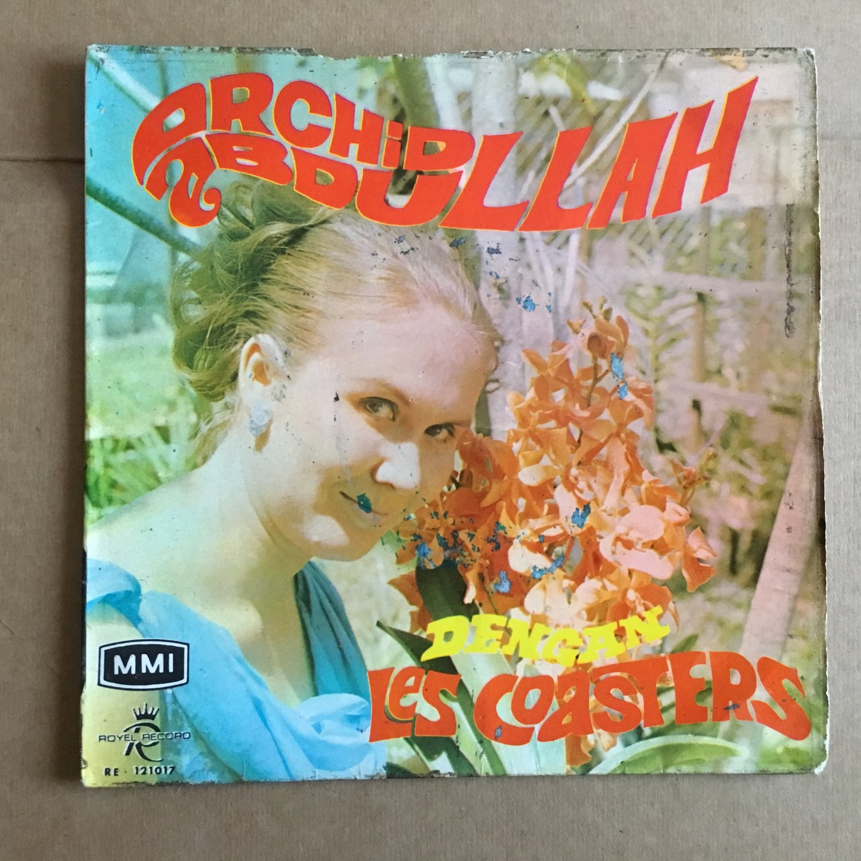 ORCHID ABDULLAH & LES COASTERS 45 EP same MALAYSIA GARAGE FREAKBEAT FUZZ mp3 LISTEN