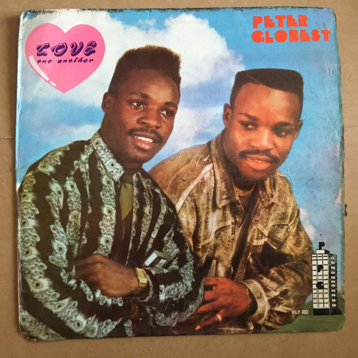 PETER GLOBEST LP love one another NIGERIA OBSCURE DANCEHALL RAGGA EARLY HIP HOP mp3 LISTEN