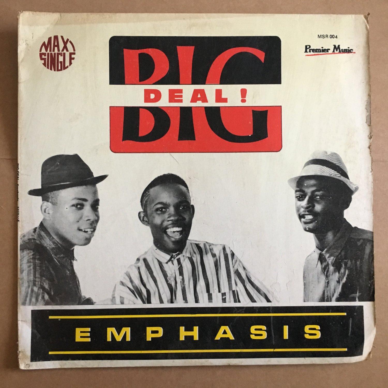 EMPHASIS LP big deal NIGERIA MODERN SOUL RAP mp3 LISTEN
