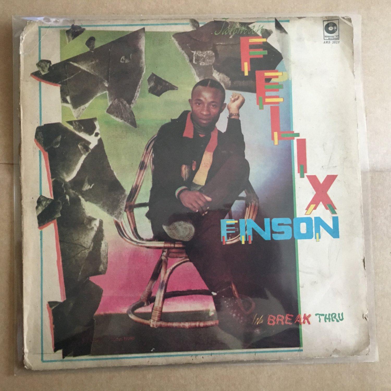 FELIX FINSON LP break thru NIGERIA REGGAE mp3 LISTEN