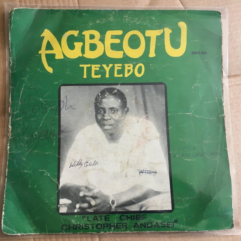 **AGBEOTU TEYEBO LP late Chief Andasei NIGERIA IJAW HIGHLIFE mp3 LISTEN