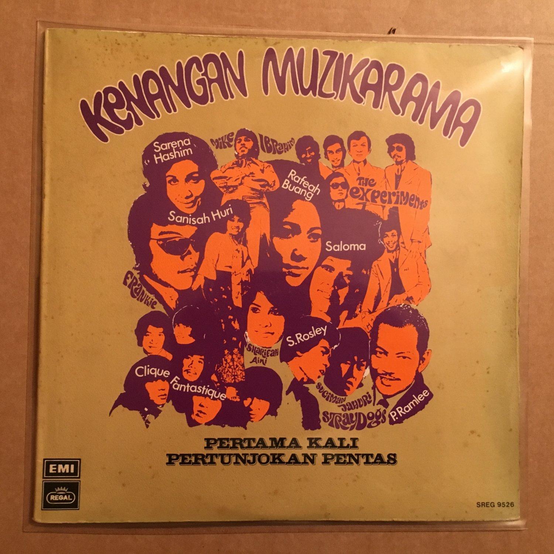 KENANGAN MUZIKARAMA LP various MALAYSIA GARAGE PSYCH SALOMA P RAMLEE mp3 LISTEN