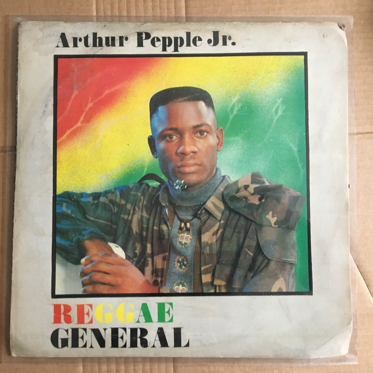 ARTHUR PEEPLE Jr LP reggae general NIGERIA REGGAE mp3 LISTEN