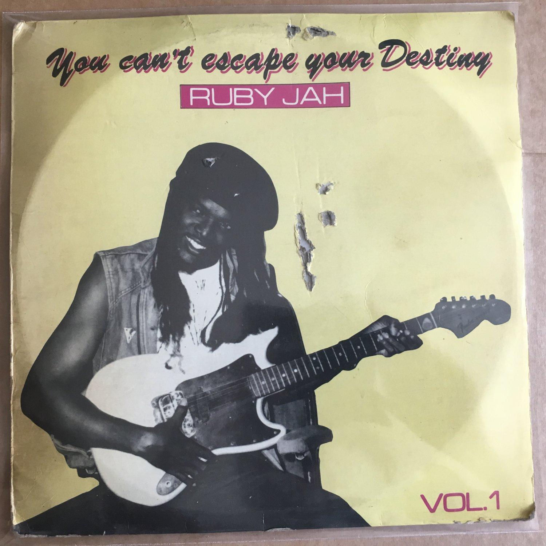 RUBY JAH LP you can't escape your destiny vol. 1 NIGERIA REGGAE mp3 LISTEN