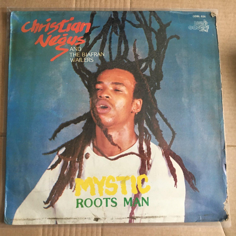 CHRISTIAN NEGUS & THE BIAFRAN WAILERS LP mystic roots man NIGERIA REGGAE mp3 LISTEN