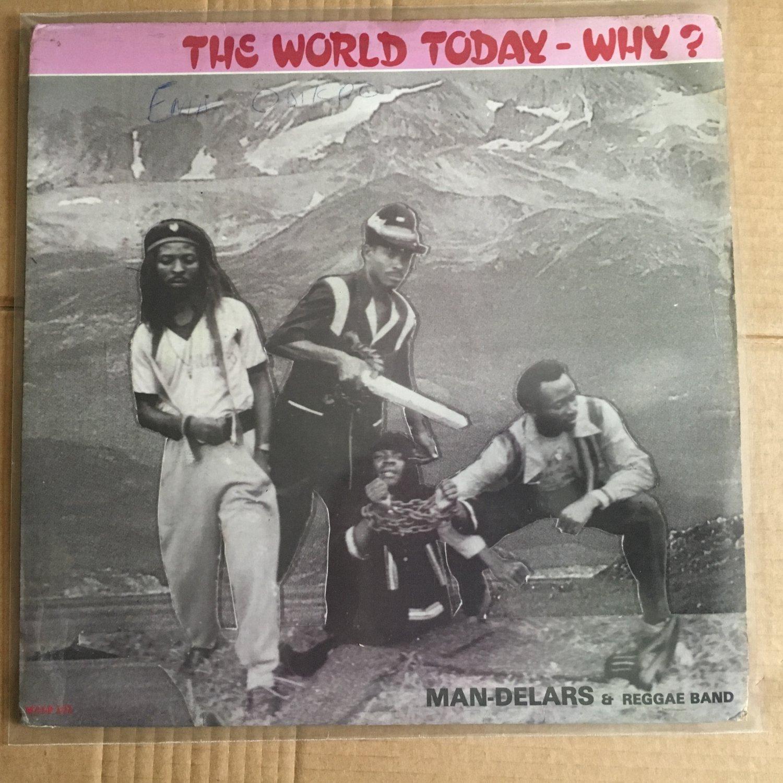 Man Delars Amp Reggae Band Lp The World Today Nigeria Reggae