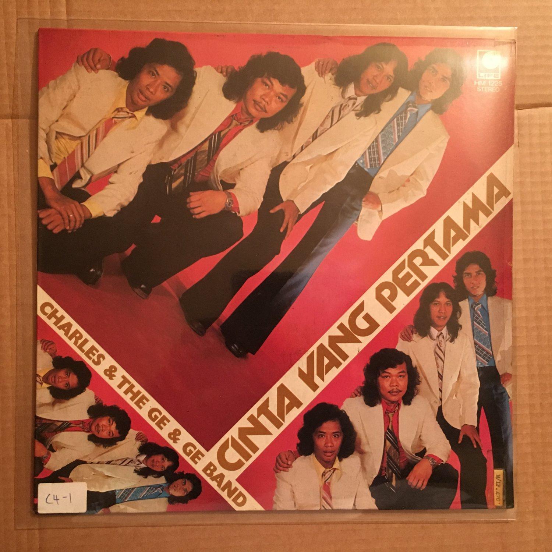 CHARLES & THE GE GE BAND LP cinta yang pertama INDONESIA POP ROCK mp3 LISTEN