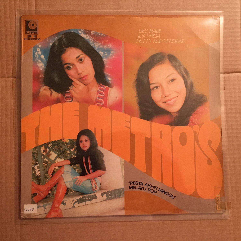 THE METROS LP pesta akhir minggu INDONESIA MELAYU POP mp3 LISTEN