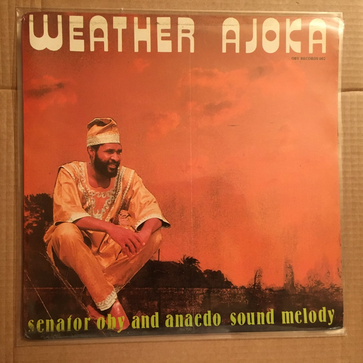 SENATOR OBY & ANAEDO SOUND MELODY LP weather ajoka NIGERIA HIGHLIFE mp3 LISTEN