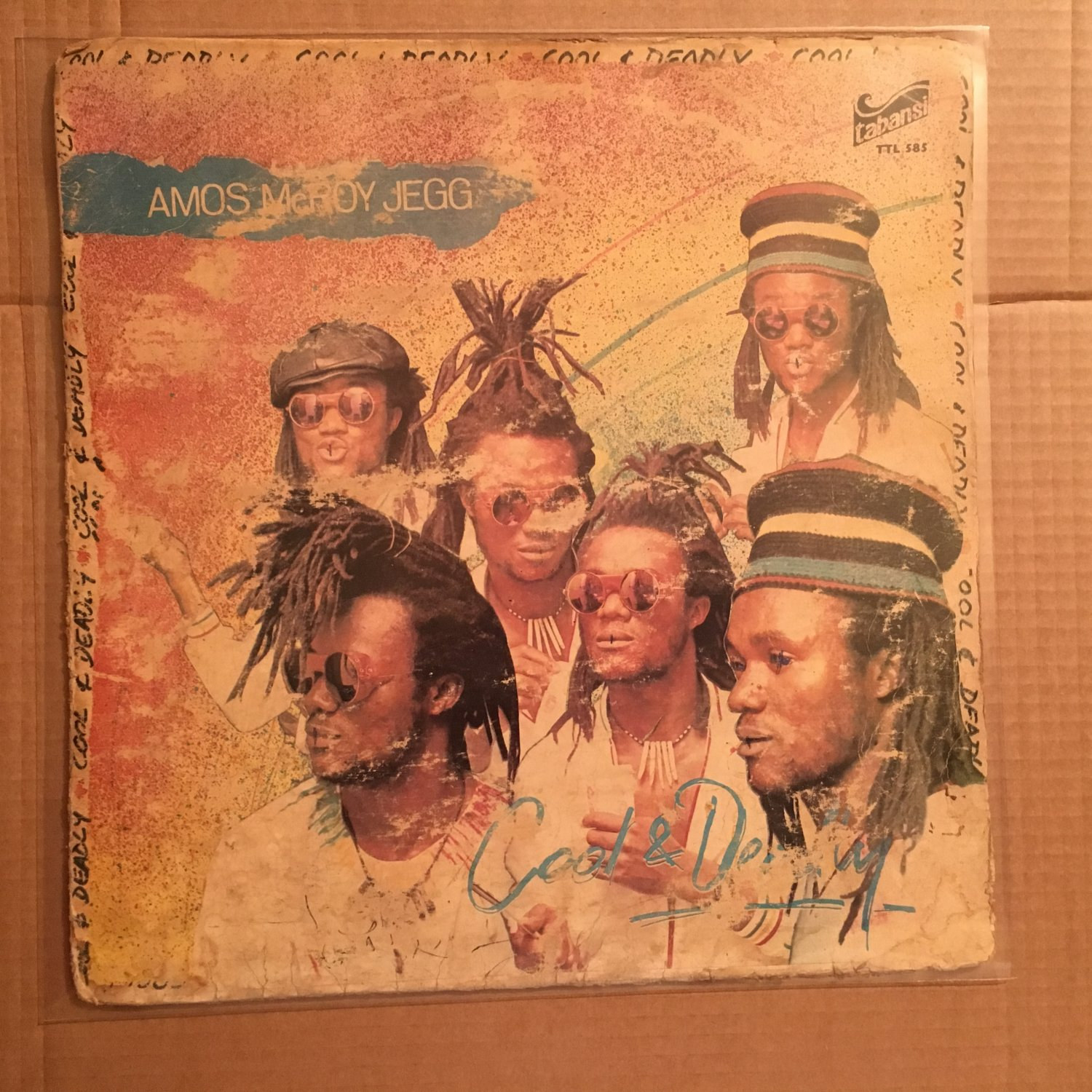 AMOS McROY JEGG LP cool & deadly NIGERIA REGGAE BOOGIE FUNK mp3 LISTEN